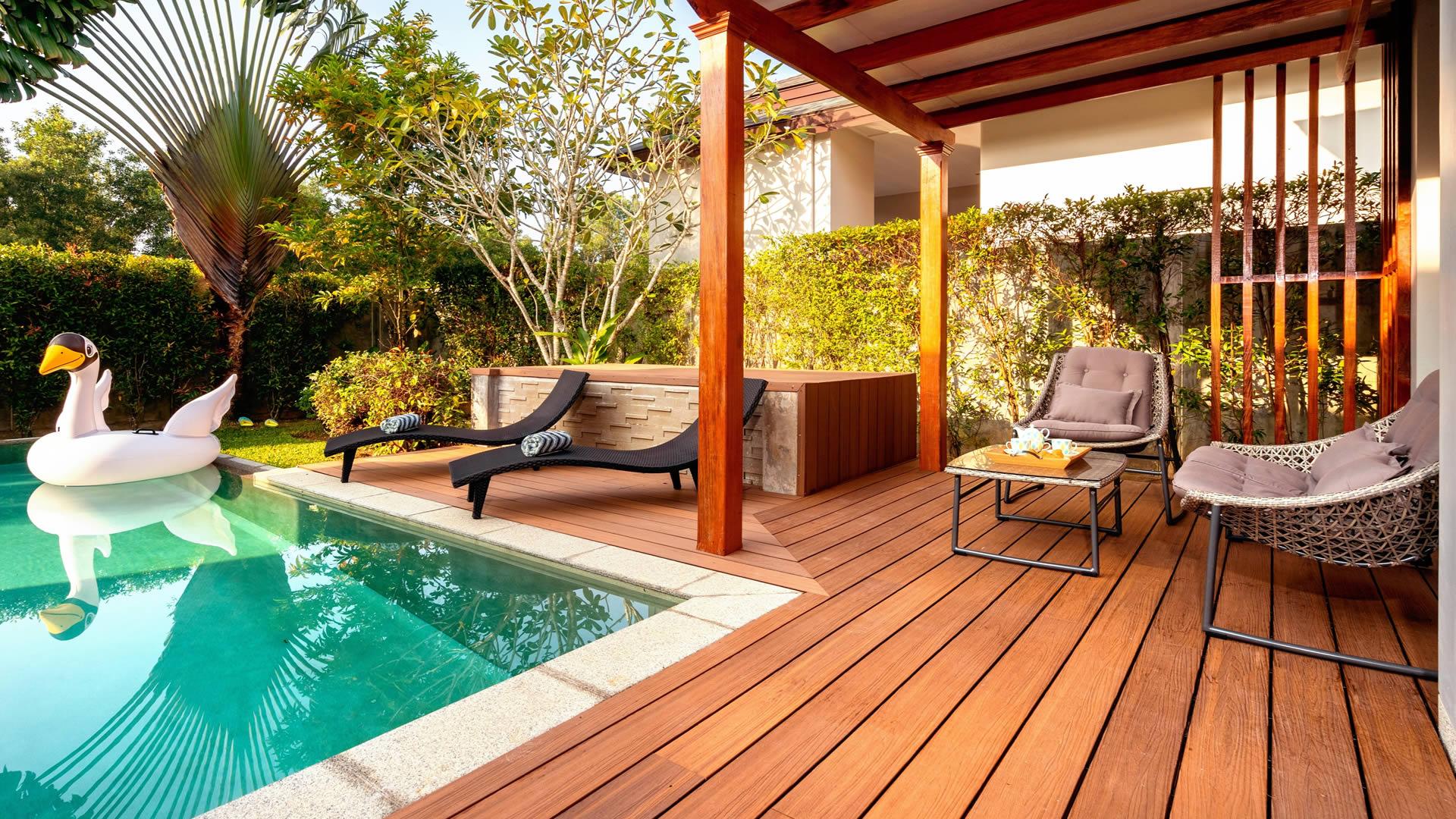 instalacion de deck de madera lima peru